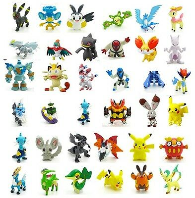 24pc Pokemon Go Playset Miniature Figure Cake Topper * USA SELLER* Toy Doll Set