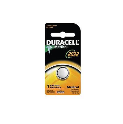 Duracell Lithium Battery Medical 3 Volt [DL2032] 1 ea (Pack of 5)