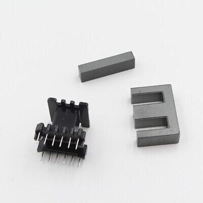 5set Ei40 66pins Pc40 Ferrite Cores Bobbin Transformer Core Inductor Coil