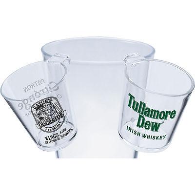 100 Personalized Hook Shot Glasses - Custom Wholesale Bulk Lot