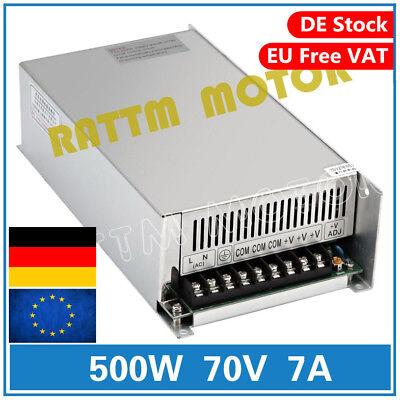 Single Ac Power Supply Switch (【EU】500W 70V 7A DC/AC Single Output Switch Power Supply CNC Router Foam Milling)