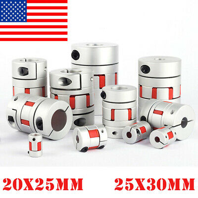 Aluminum Flexible Plum Shaft Servo Motor Coupling Cnc Stepper Connector Couple P