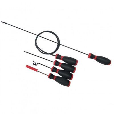 5 Piezas Tubo de Cables Roscado Kit - Automotive Cableado Herramientas