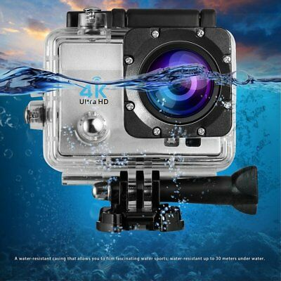 LCD FHD 4K Action Camera Wifi Video Waterproof 1080P/60fps + 20PCS Accessories