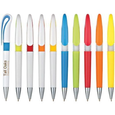 250 Personalized Hook Pens - Custom Wholesale Bulk Lot