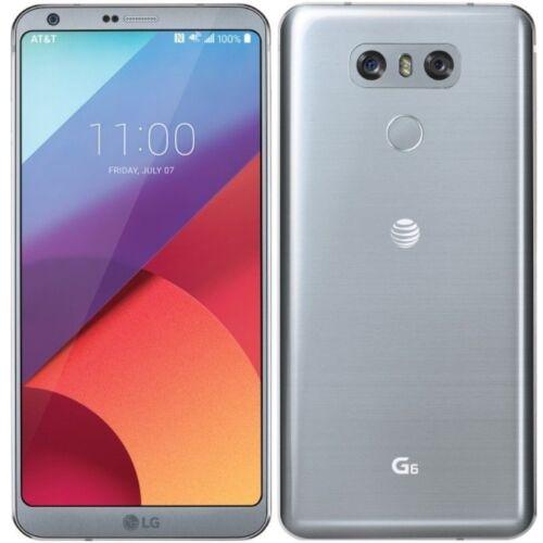 LG G6 US997 4G LTE with 32GB Memory Cell Phone (Unlocked) Platinum LG G6 UNLOCK