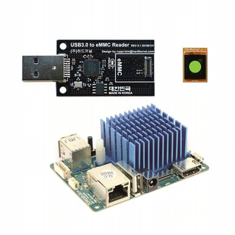 ODROID XU4Q with Passive Heathsink + USB 3 0 eMMC Module Writer + eMMC 8GB  Module | in Doncaster, South Yorkshire | Gumtree