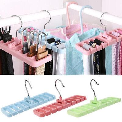 Closet Storage Rack Tie Belt Scarf Organizer Space Saver Rot