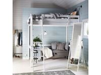 Double Loft Bed ( Stora, white from IKEA ) for sale