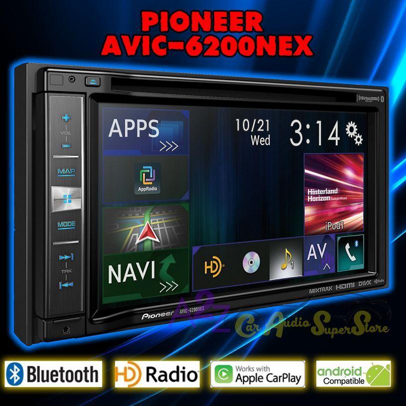 Pioneer AVIC-6200NEX Automobile Audio/Video GPS Navigation