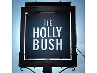 Part Time Staff Opportunities at the Holly Bush Pub, Frensham