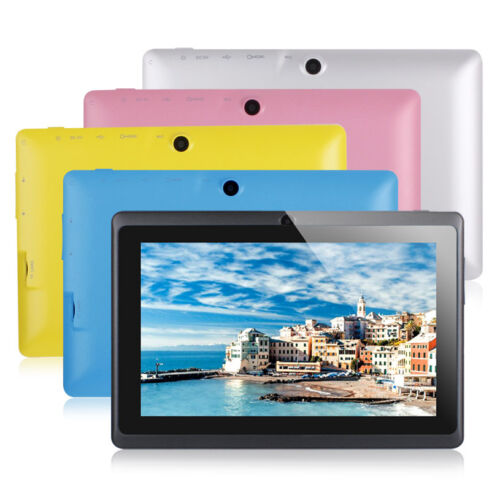 """8GB 7"""" Google Android 4.4 Tablet PC for Kids Children Dual C"""