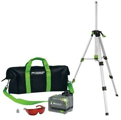 Measure Master Mm-r 50ft Horizontal Vertical Rotary Laser Level Kit With Bag
