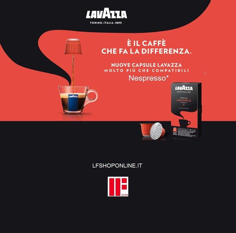 100 capsule Lavazza Espresso Armonico compatibili Nespresso®