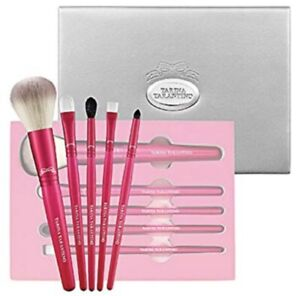Tarina Tarantino Fuchsia Revolution Brush Set (Brand New!)