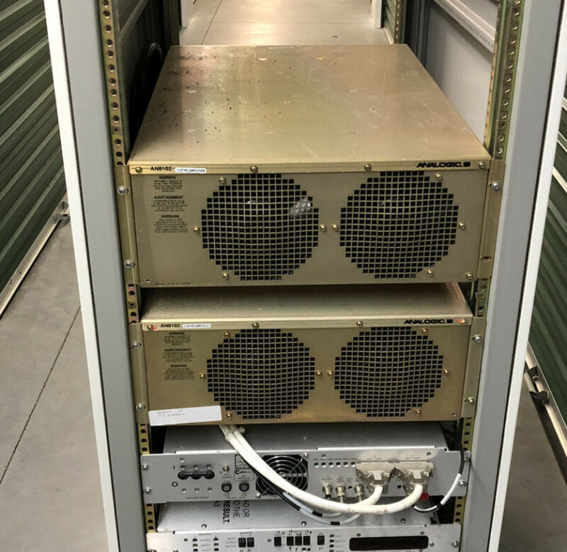 GE Signa MRI AN8102 RF Amplifier 2224562 Outright Tested Analogic