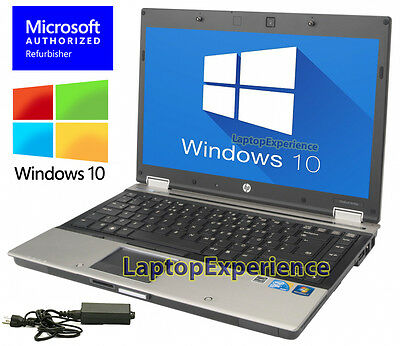 HP LAPTOP WINDOWS 10 PC CORE i5 2.4GHz 4GB RAM WiFi DVDRW NOTEBOOK 250GB HD WIN