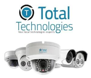 Security Camera CCTV System - View Cameras on Phone for Free! Professional Installation - Ultra HD Surveillance.