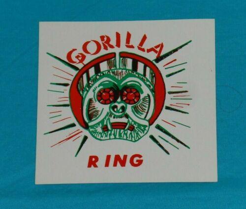 vintage GORILLA RING rings gumball vending machine advertising sign