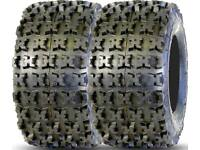 Kenda 22-11-9 Klaw XCR ATV 6 ply 22x11-9 Tires Pair 2 NEW Set of