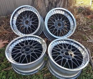 Jap riverside mesh wheels Para Hills Salisbury Area Preview