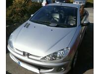 Stunning Peugeot 206 convertible for sale