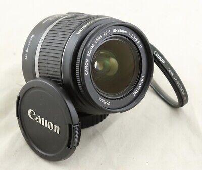 Canon EF-S 18-55mm IS F/3.5-5.6 Lens for T1i T2i T3i T4i 50D 60D 70D 80D T7i T6i