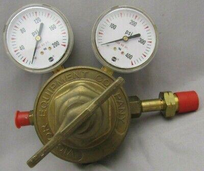 Victor Compressed Gas Regulator Model Sr711d Single Stage Heavy Duty