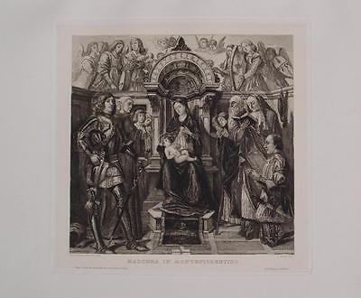 Giovanni Santi Urbino Madonna Montefiorentino Santa Heilige Italien Religion