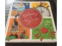 Nursery rhymes book with audio cd