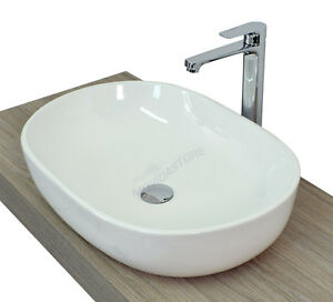caricamento dellimmagine in corso lavabo cm 60 x 40 da appoggio ceramica