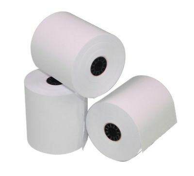 Verifone Vx520 2-14 X 50 Thermal Receipt Paper - 36 Rolls Free Shipping