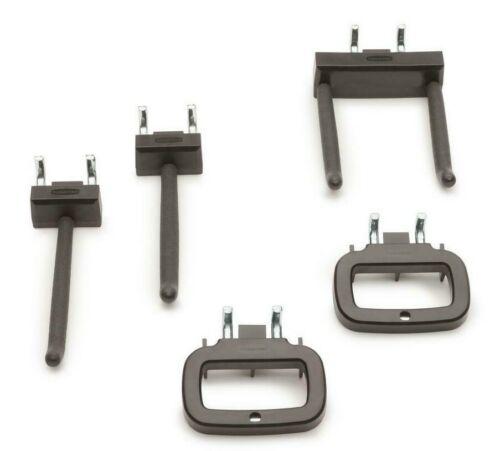 Rubbermaid Fasttrack Hook Accessory Kit Garage Storage 5 piece Set