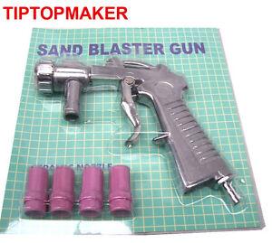 Pistolet de sablage 4 buses sableuse ebay - Pistolet a sabler ...