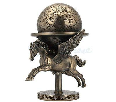 Pegasus Carrying The World Statue Greek Mythology Sculpture Figure