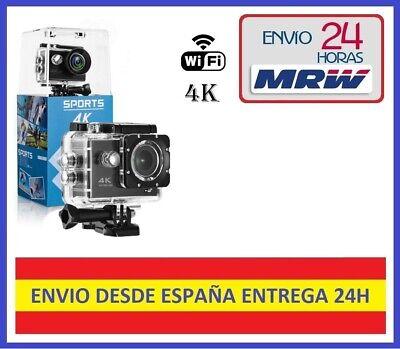 Camara Deportiva Acuatica 4K Ultra HD 12 Megapixeles Wifi ¡¡Envio Gratis!!