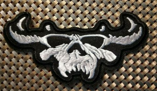 Danzig (band) Embroidered Patch Iron-On Sew-On US shipping Samhain Misfits