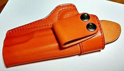 Leather IWB Holster for 1911 Black and Tan/brown molded concealed carry