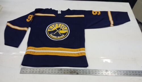 """NEW Hockey Jersey Team """"RIPTIDE"""" Unique Jersey  Quality Excellent  Adult Med."""