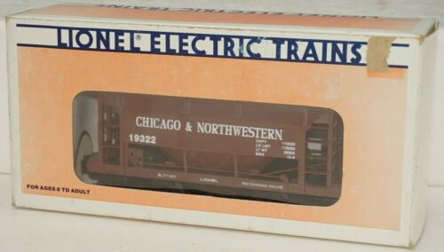 LIONEL O-GAUGE 6-19322 CHICAGO NORTH WESTERN ORE CAR WITH LOAD LN/BOX