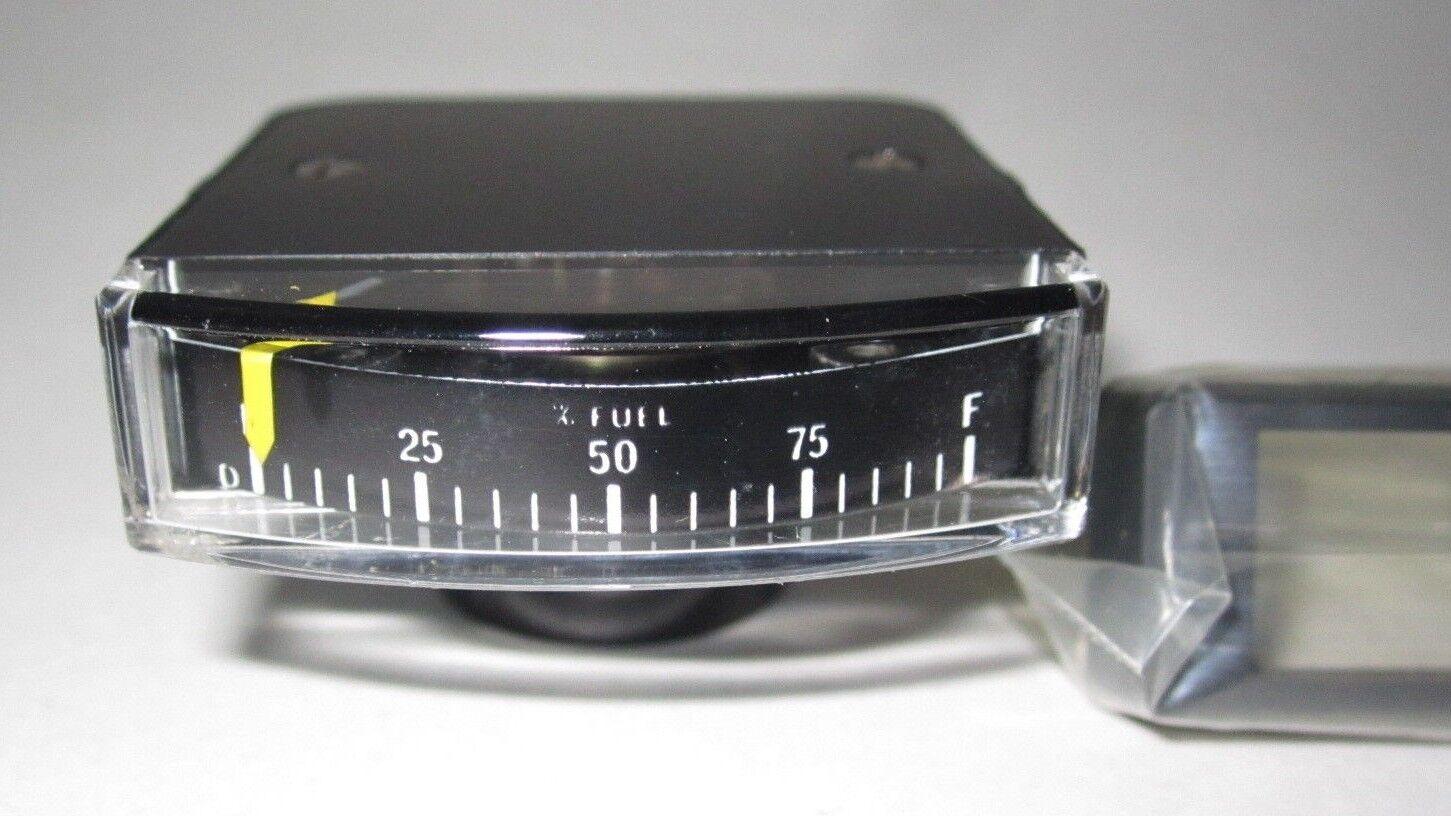 NEW NOS Fuel Meter Level Gauge Aircraft Airplane / Auto Car Rat Rod