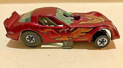 1977 Hot Wheels Metallic Red Hot Bird Trans Am Firebird Funny Car