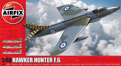 Airfix 1/48 Hawker Hunter F.6 (New Tool) # A09185
