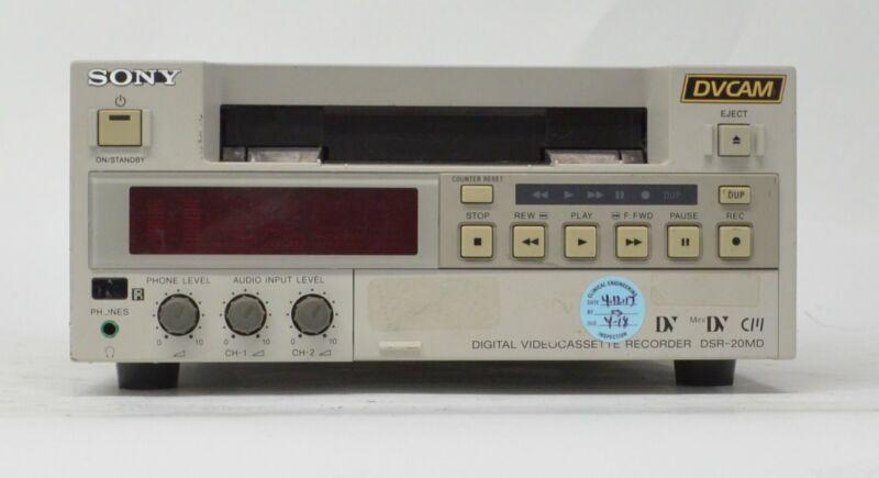 Sony DSR-20MD DVCAM Digital Videocassette Recorder