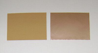 "COPPER FOIL 1 oz/sf  6.5""x4.5""  0.0014"" 1.4 mil thickness 2 sheets (IRREGULAR)"