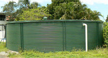 Steel Agricultural water Tank and stainless Steel Pump Hendra Brisbane North East Preview