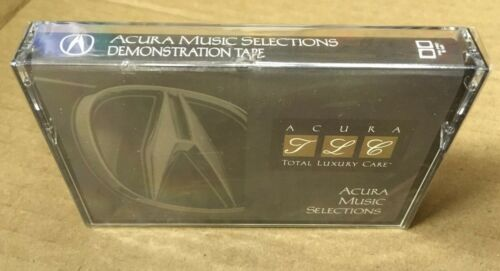 1995 1996 Acura Music Selections Cassette Demonstration Tape TLC