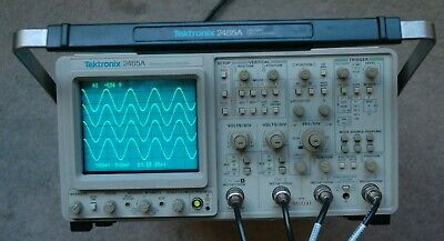 Tektronix 2465a 350 Mhz Oscilloscope Refurbished Calibrated