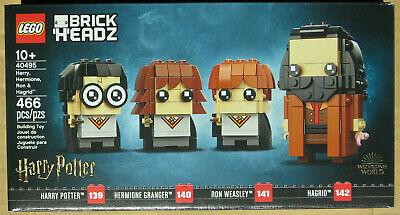 LEGO Harry Potter Hermione Ron Hagrid 40495 BrickHeadz 139 140 141 142 new