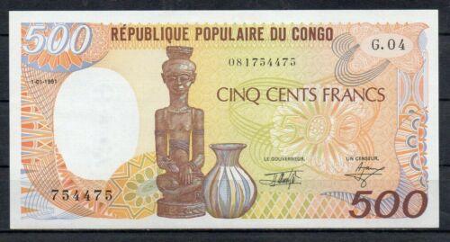 EQUATORIAL GUINEA Africa 500 Francs UNC 1985 p-20